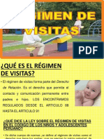 régimen de visitas perú