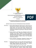 PERATURAN MENTERI TENAGA KERJA DAN TRANSMIGRASI REPUBLIK INDONESIA NOMOR PER.14/MEN/X/2010 TENTANG PELAKSANAAN PENEMPATAN DAN PERLINDUNGAN TENAGA KERJA INDONESIA DI LUAR NEGERI