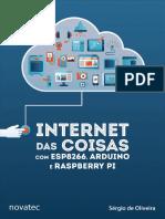 Internet das Coisas com ESP8266, Arduino e Raspberry PI