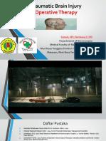 9. TBI.operative Terapi.neurosurgery.rha.2019 New