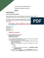 INFORMÁTICA 1 T1 - Examen 2 - 3 de Octubre de 2019 - B