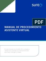 Procedimiento Asistente Virtual