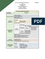 Actividades Preliminares e Inventario de Planos