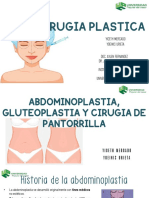 Abdominoplastia, Gluteoplastia y Cirugia de Pantorrilla