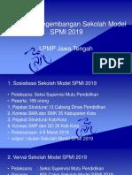 3. Program Pengembangan Sekolah Model SPMI 2019