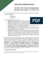 Tema 1 - Legislación Alimentaria Básica