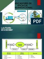 Indicadores de Eficacia Organizacional 201410010667 Luis Portillo
