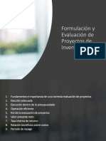 formulación proyectos economía