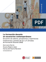 La Formación Docente en Escenarios Contemporáneos Ana Laura García Susana López Clarisa Marzioni Digital