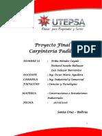 Poyecto Final de Construcciones e Instalaciones Industriales[1]