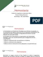 Laboratorio Clinico 3 Hemostasia