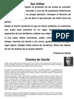 Ser Militar-Charles de Gaulle