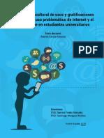 Estudios Transcultural de Usos y Gratificaciones Asociadas Al Uso Problemático Deinternet y El Smartphone en Estudiantes Universitarias