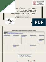Producción de Etileno a Partir Del Acoplamiento Oxidativo