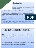 POS 315 - Public Policy Analysis