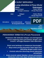 Emisi Surat Berharga