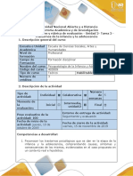 Guía de actividades y rúbrica de evaluación - Unidad 2- Tarea 2 - Trastornos de la infancia y la adolescencia