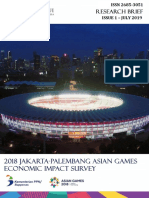 Asian Games Research 2018
