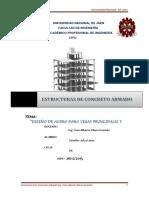 Informe de Estructuras de Concreto Armado