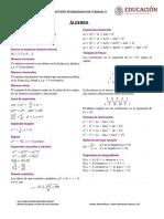 formulario calculo diferencial