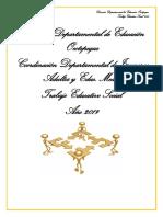 Tes 2019 Estructura Del Informe