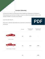Tipos de Licencia de Conducir (Brevete) _ Gobierno Del Perú