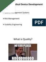 Bmen 6v87.005 Lecture 13 Qms