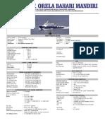 Ship Particular CB.tunas Terafulk 1