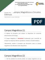 Aula#2 - Circuitos Magnéticos I - Princípios, Lei de Ampére - Campo Magnético