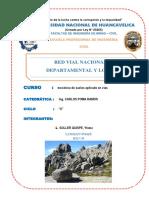 Red Vial Nacional, Departamental y Local o Rural