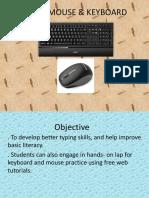 Basic Mouse & Keyboard
