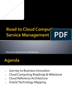 Road to Cloud Computing