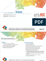 GTS NX 2019(v2.1) Release Notes