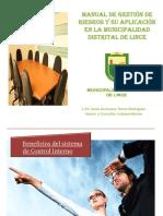 GESTIONES DE RIESGO EN ENTE INSTITUCIONAL