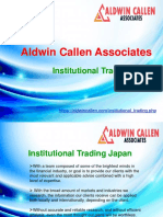 Aldwin Callen Associates Japan | Institutional Trading Japan