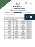 ΦΕΚ Γ 1903_17.10.2019_Προαγωγές Υποπλοιάρχων ΑΣΣΥ