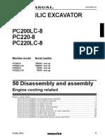 Shop Manual Hidraulic Excavator Pc220lc-8