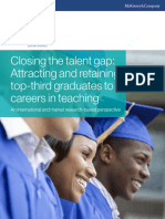 Closing the Teaching Talent Gap