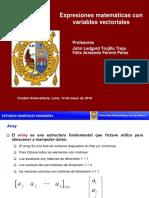 4_Expresiones matemáticas con variables vectoriales -EEGG-UNMSM 2018-I.pdf