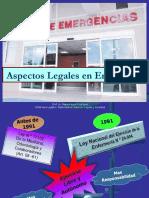 Aspectos Legales en Salas de Emergencias