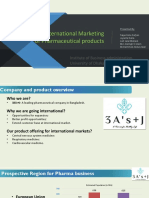 international marketing project plan