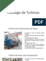 Catalogo de Turbina