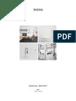 TOTO Annual Report 2016