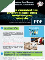 LECT 11 Estructura organizacional y sus parámetros de diseño análisis descriptivo en pymes industriales.pptx