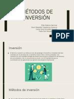 Métodos de Inversión
