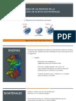 Utilidad de La Enzima en La Producción de Nuevos Biomateriales