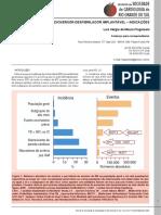 CARDIOVERSOR-DESFIBRILADOR IMPLANTÁVEL – INDICAÇÕES