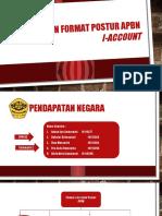 Perubahan Format Postur APBN I-Account KELOMPOK 2