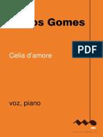(Carlos Gomes- Celia d` amore