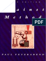 Against Methods-Paul Feyerabend